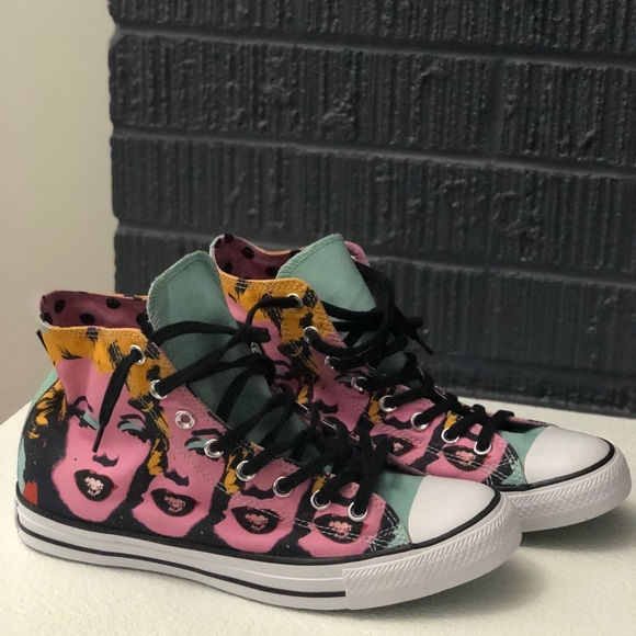 4fbee277d6ca66 Converse Shoes - Size 11 W 9 M Converse Andy Warhol Marilyn Monroe
